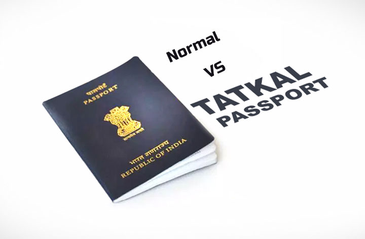 What Is The Difference Between A Normal And A Tatkal Passport?