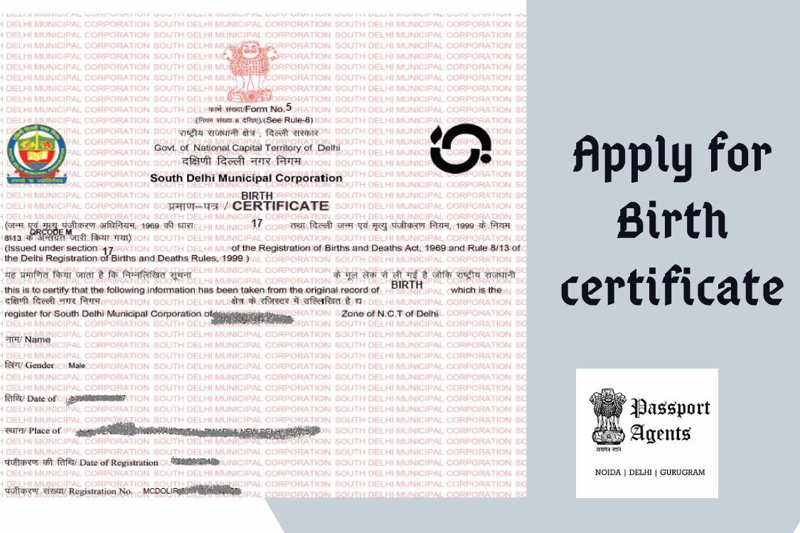 Apply For Birth Certificate in Delhi