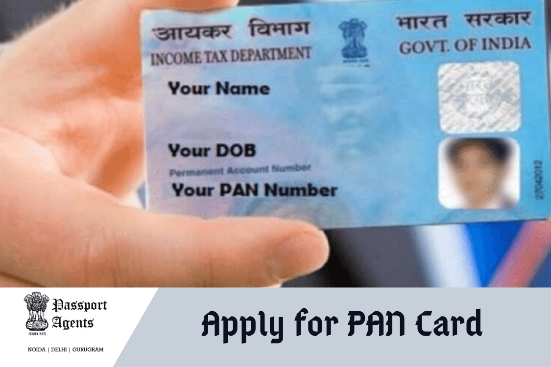 Apply For Pan Card in Delhi and Noida