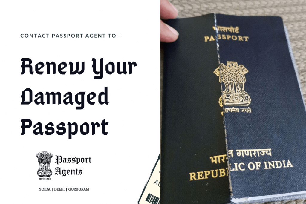 Passport Agent in Delhi to Renew Your Damaged Passport