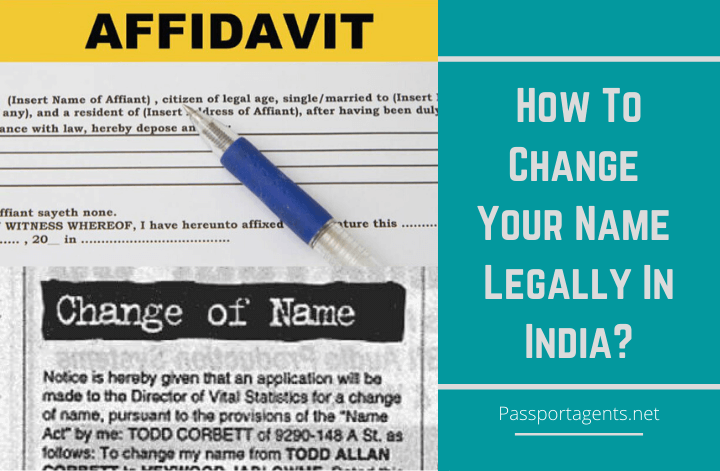 How to Change Your Name Legally In India – Know the steps