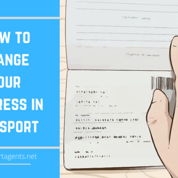 How to Change Your Address in Passport